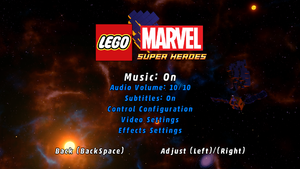 Lego Marvel Super Heroes Pcgamingwiki Pcgw Bugs Fixes Crashes