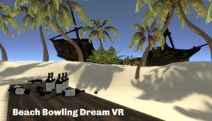Beach Bowling Dream VR cover