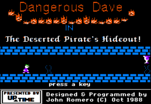 Dangerous Dave in the Deserted Pirate's Hideout! cover