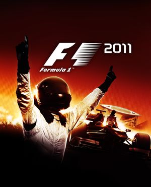 F1 2011 cover