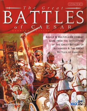 The Great Battles of Caesar cover
