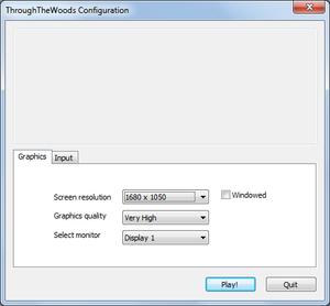 External graphics settings