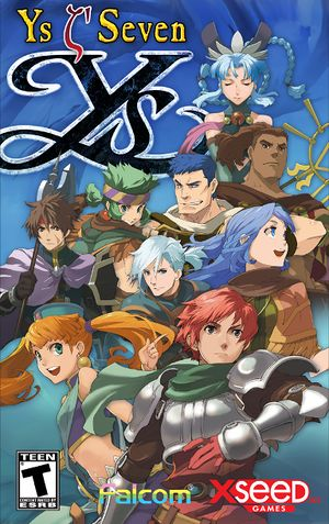 Ys Seven cover