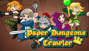 Paper Dungeons Crawler cover