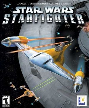 Star Wars: Starfighter cover