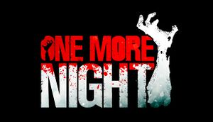 One More Night cover