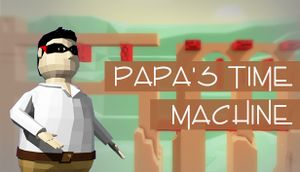 Papa's Time Machine cover