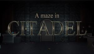 A maze in Citadel cover