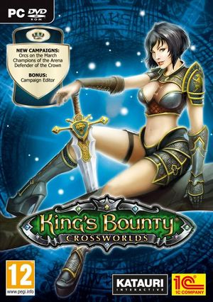 King's Bounty: Crossworlds cover