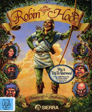 Conquests of the Longbow: The Legend of Robin Hood cover