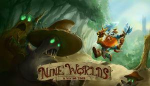 Nine Worlds: A Viking Saga cover