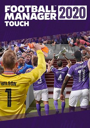 Football Manager 2020 Touch cover