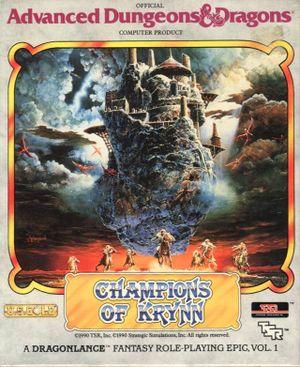 Champions of Krynn cover