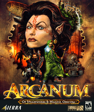 Arcanum: Of Steamworks & Magick Obscura cover