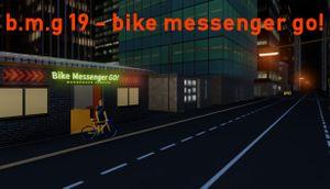 B.m.g 19 - bike messenger go! cover