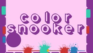 Color Snooker cover