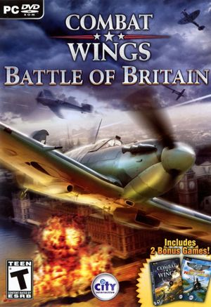 Combat Wings: Battle of Britain cover