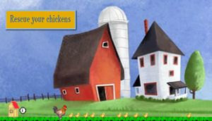 Rescue your chickens cover