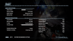 An example of a proper in-game screenshot.