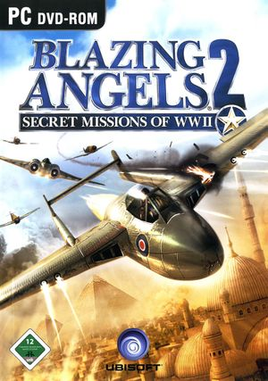 Blazing Angels 2: Secret Missions of WWII cover