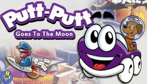 Putt-Putt Goes to the Moon cover