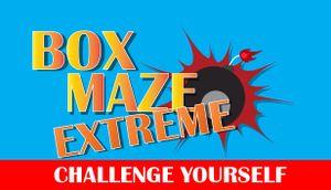 Box Maze Extreme cover