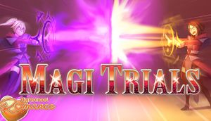 Highschool Romance: Magi Trials cover