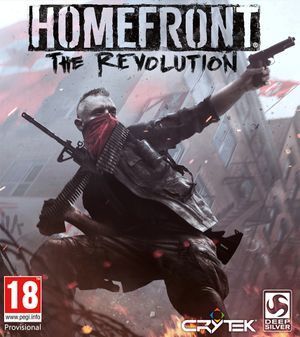 Homefront: The Revolution cover