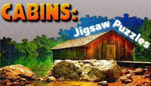 Cabins: Jigsaw Puzzles cover