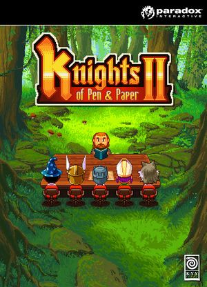 Knights of Pen and Paper 2 cover