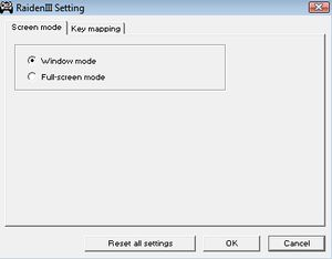Raiden III Digital Edition - PCGamingWiki PCGW - bugs, fixes