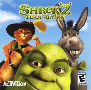 Shrek 2: Team Action cover
