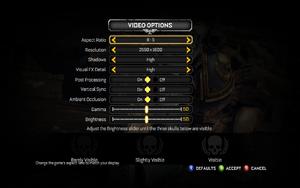 Warhammer 40,000: Space Marine - PCGamingWiki PCGW - bugs, fixes