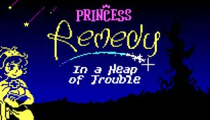 Princess Remedy In A Heap of Trouble cover