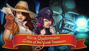 Alicia Quatermain: Secrets of the Lost Treasures cover