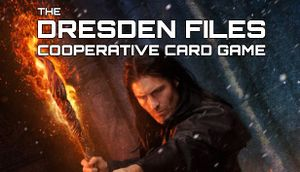 Dresden Files Cooperative Card Game cover
