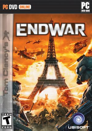 Tom Clancy's EndWar cover