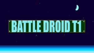 Battle Droid T1 cover