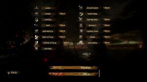 In-game Input Settings 2