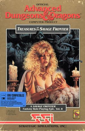 Treasures of the Savage Frontier cover