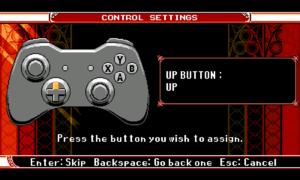 Controller configuration.