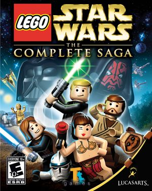 Lego Star Wars: The Complete Saga cover