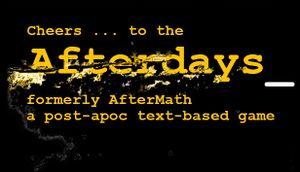Afterdays cover