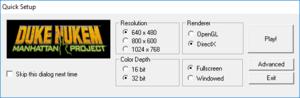 Launcher settings (non-Steam versions).