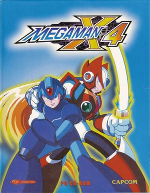 Mega Man X4 cover