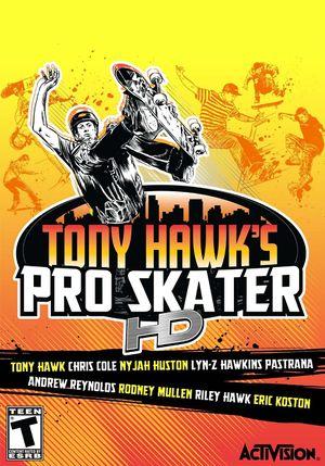 Tony Hawk's Pro Skater HD cover