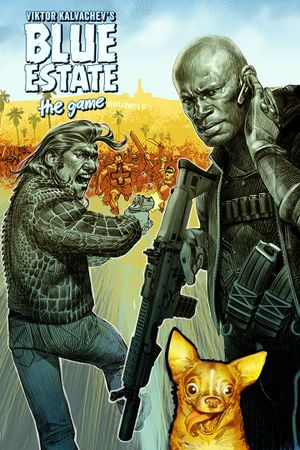 Blue Estate The Game cover