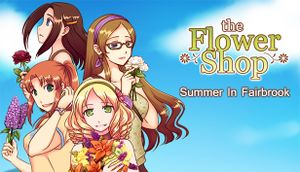 The Flower Shop: Summer in Fairbrook cover