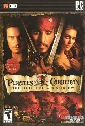 Pirates of the Caribbean: The Legend of Jack Sparrow cover