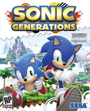 Sonic Generations cover